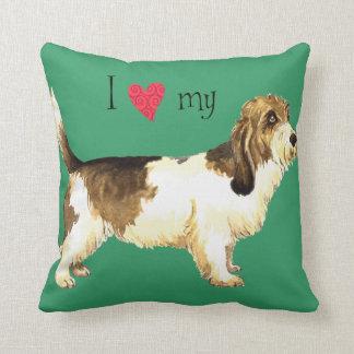 I Love my PBGV Cushion