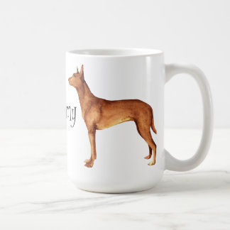 I Love my Pharaoh Hound Coffee Mug