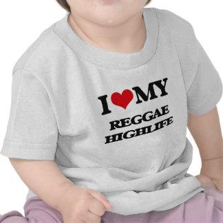 I Love My REGGAE HIGHLIFE Tee Shirt
