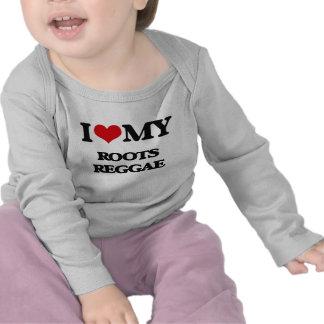 I Love My ROOTS REGGAE Tshirt
