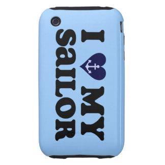 I Love My Sailor US Navy iPhone 3G/3S Case iPhone 3 Tough Case