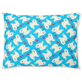 I Love my Samoyed Pet Bed