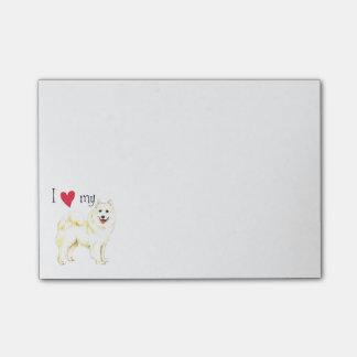 I Love my Samoyed Post-it Notes