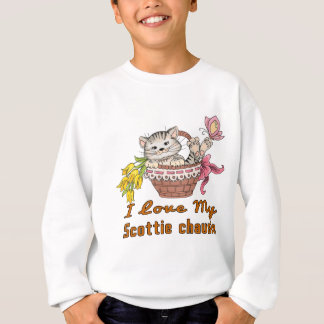 I Love My Scottie chausie Sweatshirt