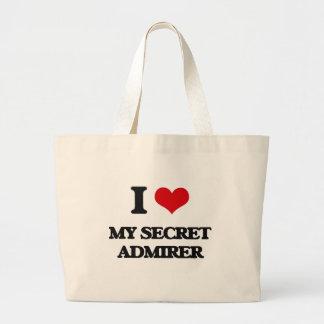I love My Secret Admirer Jumbo Tote Bag