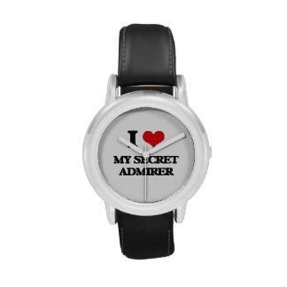 I love My Secret Admirer Wristwatch