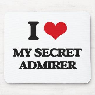 I love My Secret Admirer Mouse Pad