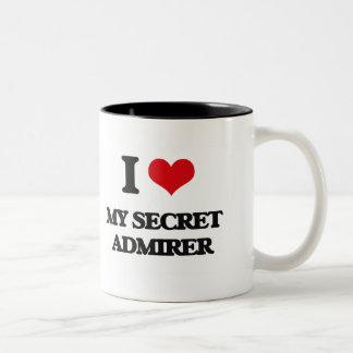 I love My Secret Admirer Two-Tone Mug