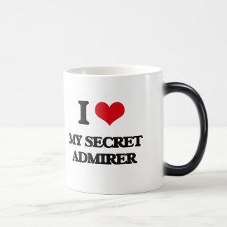 I love My Secret Admirer Morphing Mug