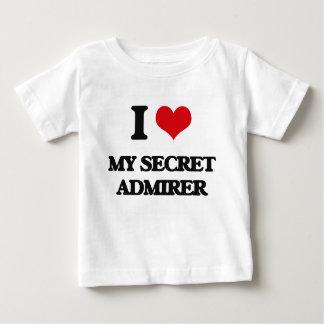 I love My Secret Admirer T Shirt