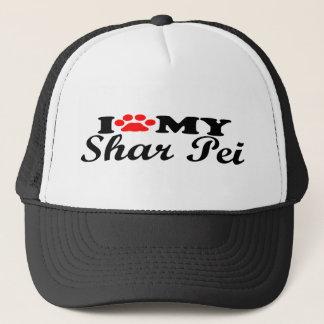 I Love My Shar Pei Trucker Hat