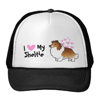 I Love My Shetland Sheepdog / Collie Cap