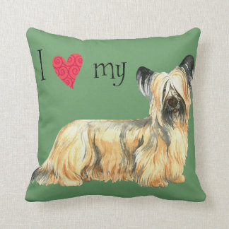 I Love my Skye Terrier Cushion