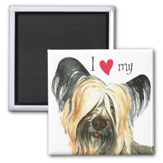 I Love my Skye Terrier Magnet