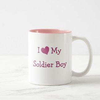 I Love My Soldier Boy Coffee Mug