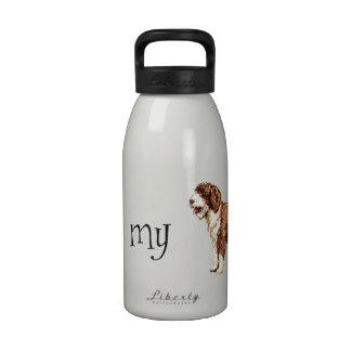 I Love my Spanish Water Dog Water Bottle
