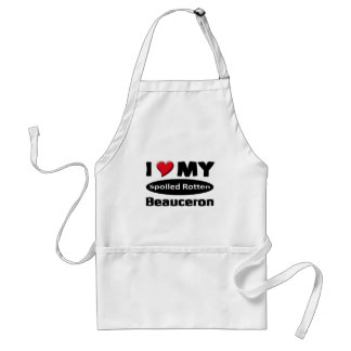 I love my Spoiled rotten Beauceron Standard Apron