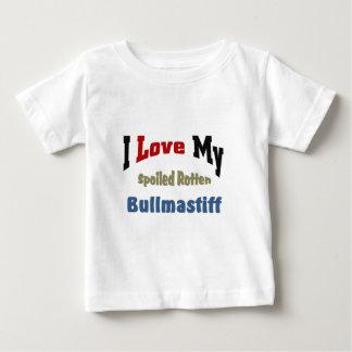 I love my spoiled rotten Bullmastiff Baby T-Shirt