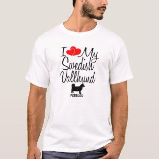 I Love My Swedish Vallhund Dog T-Shirt