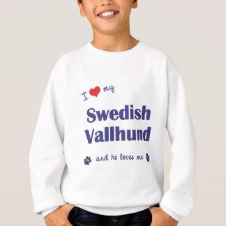 I Love My Swedish Vallhund (Male Dog) Sweatshirt