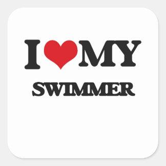 I love my Swimmer Stickers