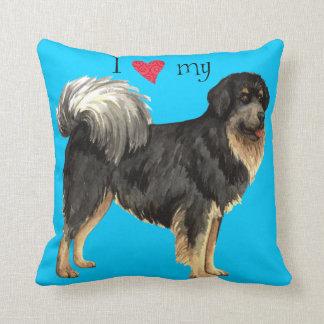 I Love my Tibetan Mastiff Cushion
