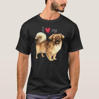 I Love my Tibetan Spaniel T-Shirt