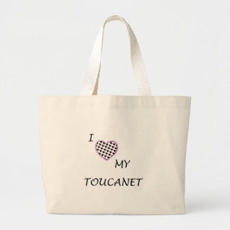 I Love My Toucanet bag