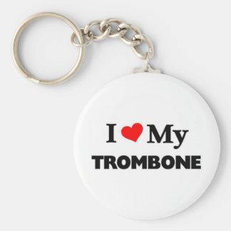 I love my Trombone Key Ring