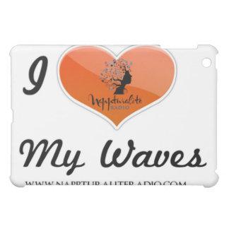 I Love My Waves iPad Case