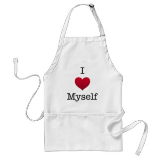 i love myself standard apron