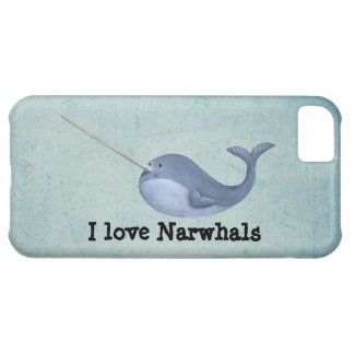 I love Narwhals iPhone 5C Case