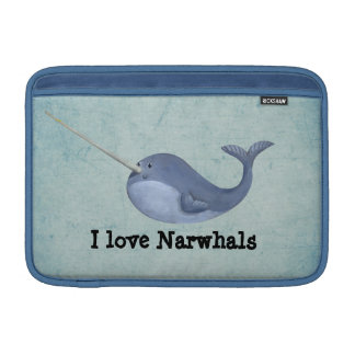 I love Narwhals MacBook Sleeve