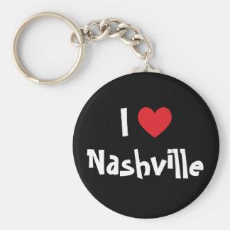 I Love Nashville Key Ring