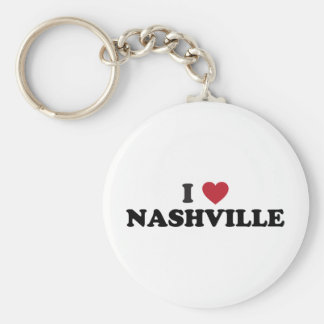 I Love Nashville Tennessee Key Ring