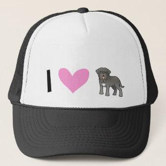 I Love Neapolitan Mastiffs Trucker Hat