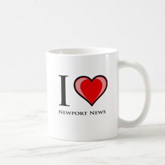 I Love Newport News Coffee Mug