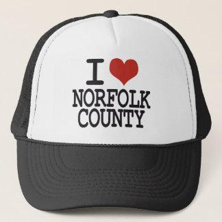 I love Norfolk County Trucker Hat