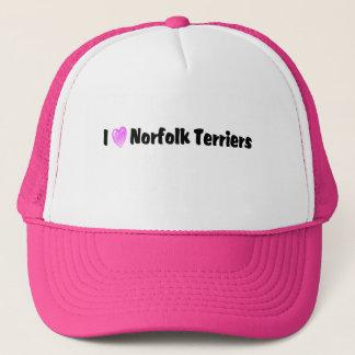 I Love Norfolk Terriers Trucker Hat