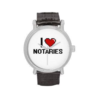 I love Notaries Wristwatches