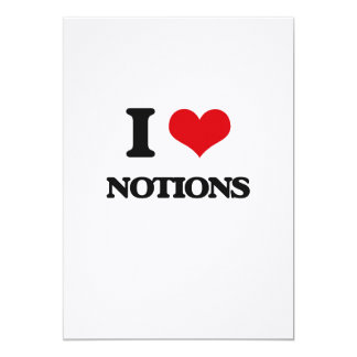 I Love Notions Cards