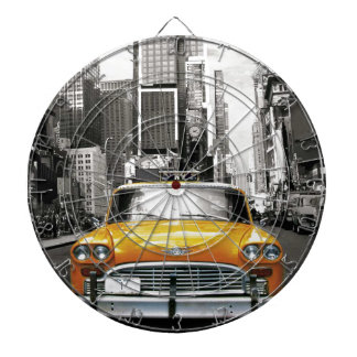 I Love NYC - New York Taxi Dartboard