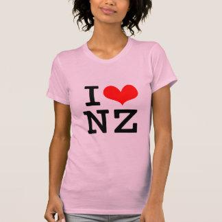 I Love NZ Shirt