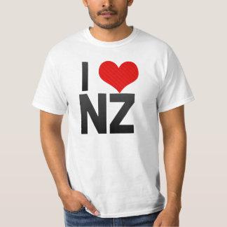 I Love NZ Tee Shirts