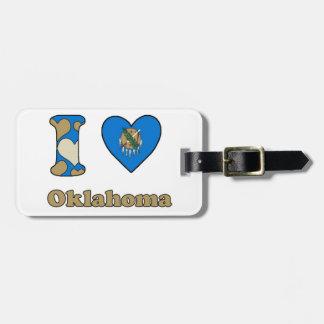 I love Oklahoma Luggage Tag
