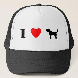 I Love Otterhounds Trucker Hat