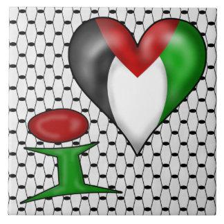 I love Palestine Tile