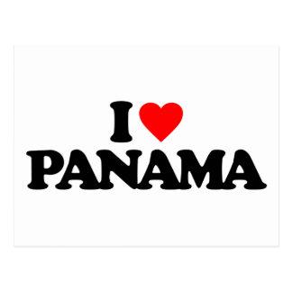 I LOVE PANAMA POSTCARDS