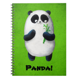 I love Panda Spiral Notebook