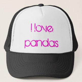 I love pandas cap